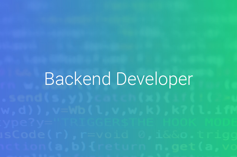 Jobs bei Onivation - Backend Developer